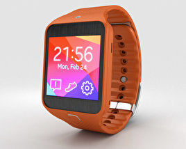 3D model of Samsung Gear 2 Neo Orange