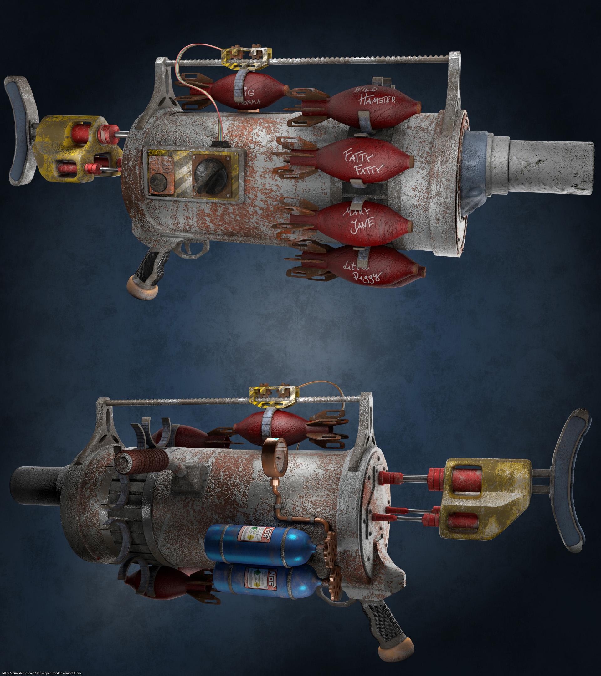 Greymourn Mortar 3d art