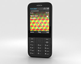 3D model of Nokia 225 Black
