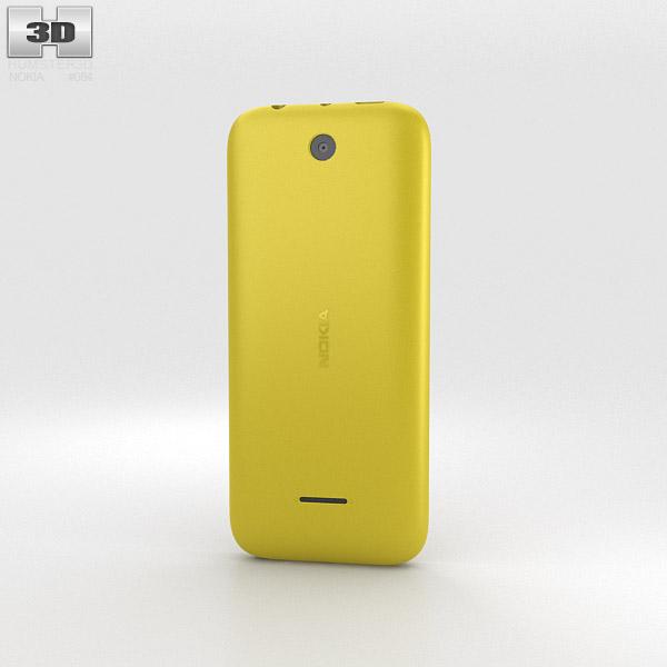 Nokia 225 Yellow 3d model