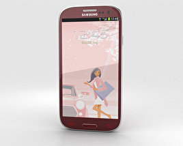 3D model of Samsung Galaxy S3 Neo La Fleur