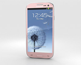 3D model of Samsung Galaxy S3 Neo Pink
