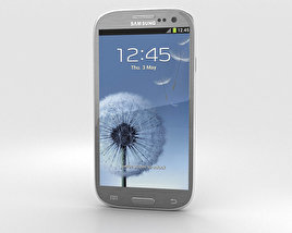 3D model of Samsung Galaxy S3 Neo Titanium Grey