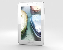 Lenovo IdeaTab A3000 White 3D model