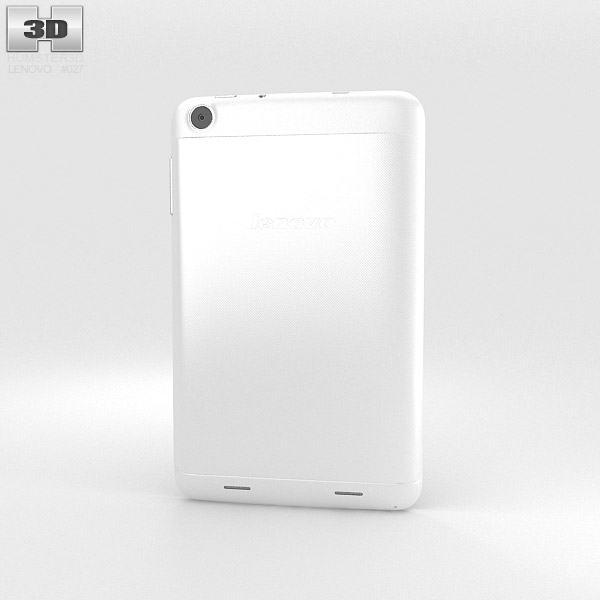 Lenovo IdeaTab A3000 White 3d model