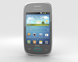 3D model of Samsung Galaxy Pocket Neo Grey