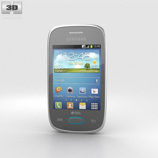 Samsung Galaxy Pocket Neo Grey 3d model