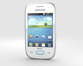 3D model of Samsung Galaxy Pocket Neo White