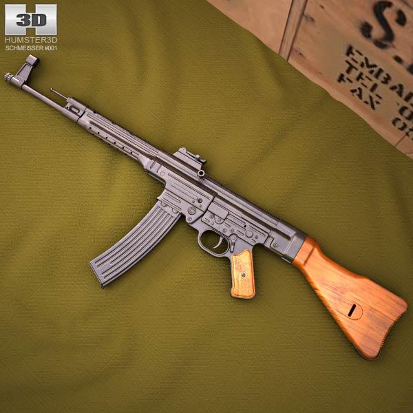 StG 44 3D model