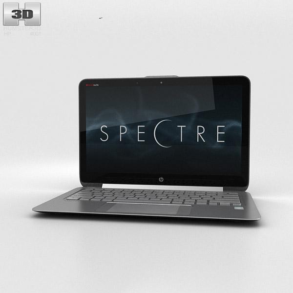 HP Spectre 13.3 inch Ultrabook Silver 3D model