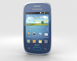 3D model of Samsung Galaxy Pocket Neo Blue
