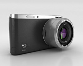 3D model of Samsung NX Mini Smart Camera Black