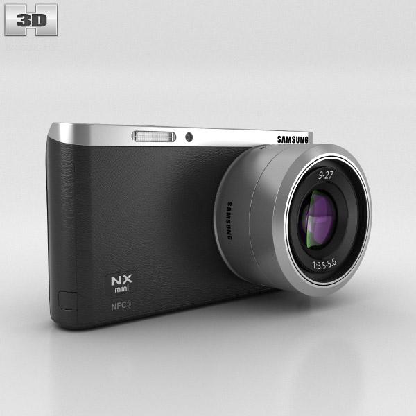 3D model of Samsung NX Mini Smart Camera Black