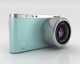 3D model of Samsung NX Mini Smart Camera Mint Green