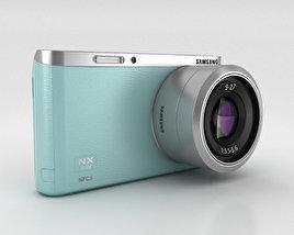 Samsung NX Mini Smart Camera Mint Green 3D model