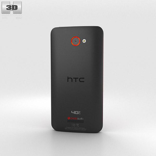 HTC Droid DNA Black 3d model