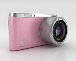 3D model of Samsung NX Mini Smart Camera Pink