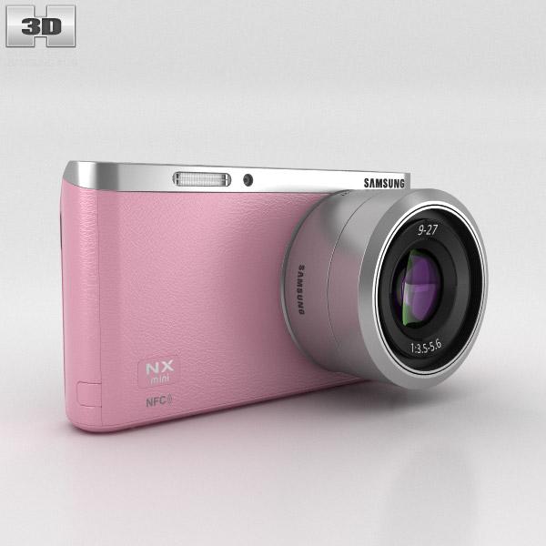 3D model of Samsung NX Mini Smart Camera Pink