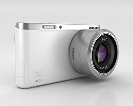 3D model of Samsung NX Mini Smart Camera White