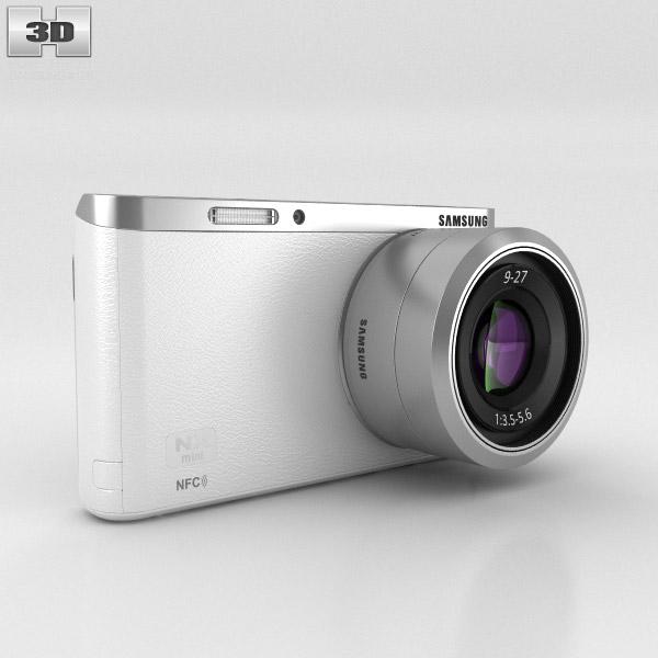 3D model of Samsung NX Mini Smart Camera White