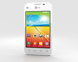 3D model of LG L35 Dual White