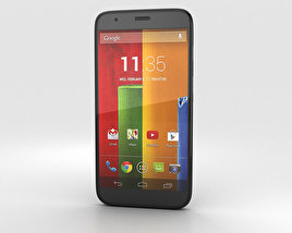 3D model of Motorola Moto G Black