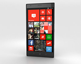 3D model of Nokia Lumia 1520 Black
