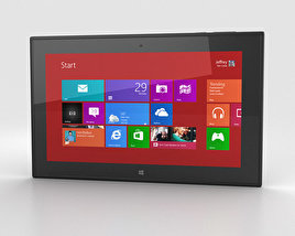 Nokia Lumia 2520 Black 3D model