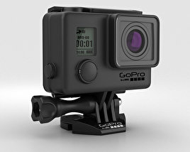 3D model of GoPro HERO3+ Blackout Housing