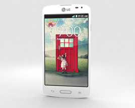 3D model of LG F70 White