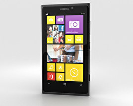 Nokia Lumia 1020 Black 3D model