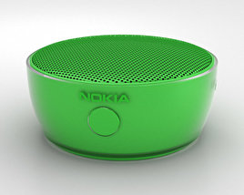 3D model of Nokia Portable Wireless Speaker MD-12 Green
