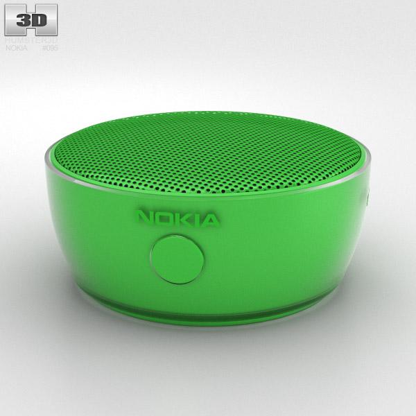 Nokia Portable Wireless Speaker MD-12 Green 3D model