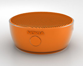 3D model of Nokia Portable Wireless Speaker MD-12 Orange