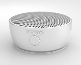 3D model of Nokia Portable Wireless Speaker MD-12 White