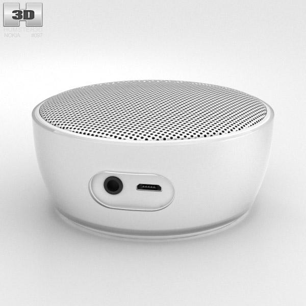 Nokia Portable Wireless Speaker MD-12 White 3d model
