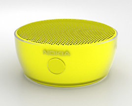 3D model of Nokia Portable Wireless Speaker MD-12 Yellow