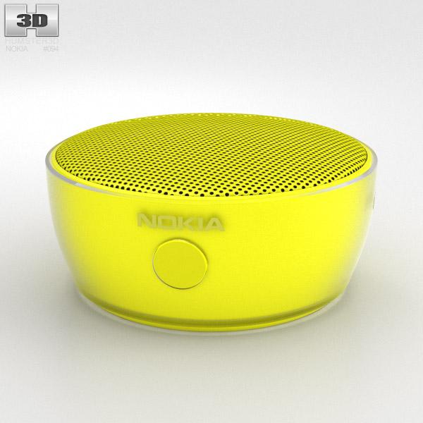 Nokia Portable Wireless Speaker MD-12 Yellow 3d model