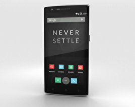 3D model of OnePlus One Sandstone Black