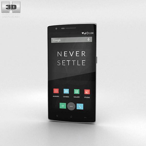 OnePlus One Sandstone Black 3d model