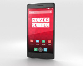 OnePlus One Silk White 3D model