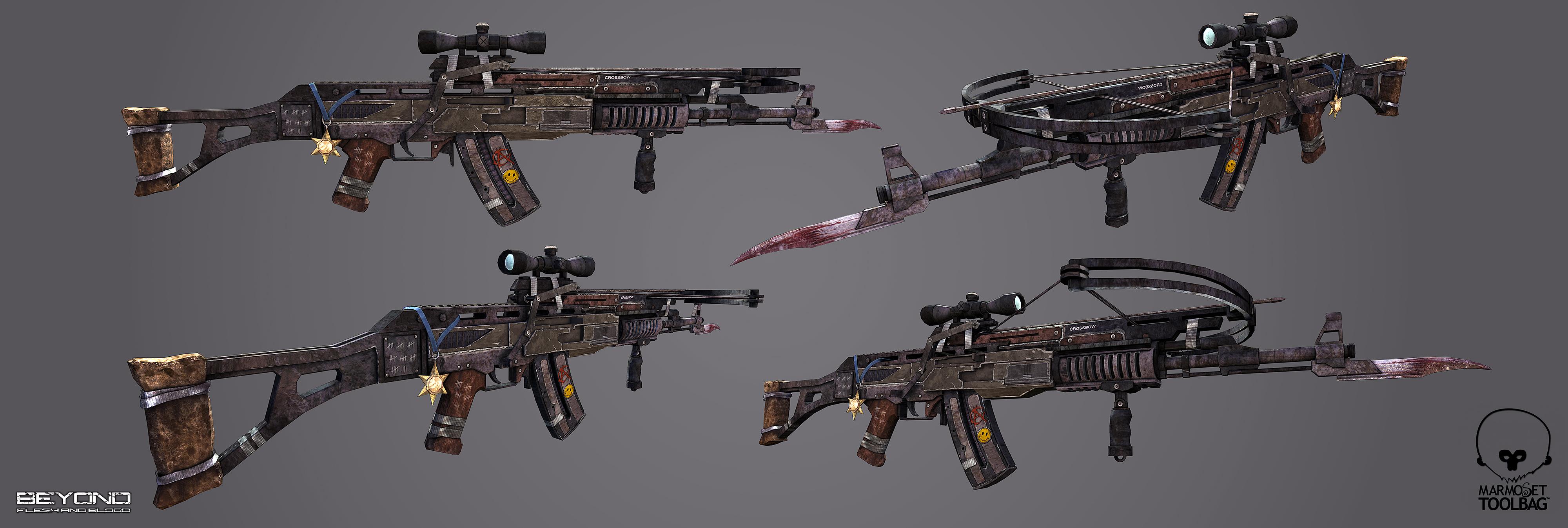 Rebel Assault Rifle 3d art
