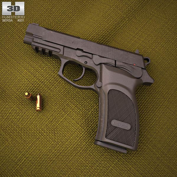 3D model of Bersa Thunder 9