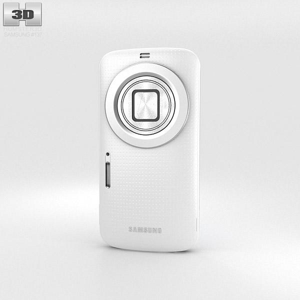 Samsung Galaxy K Zoom 白色的 3D模型