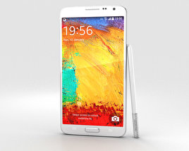 3D model of Samsung Galaxy Note 3 Neo White