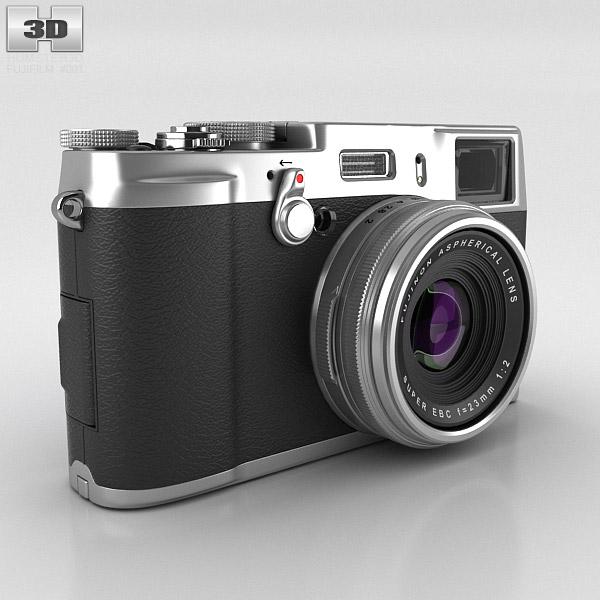 3D model of Fujifilm FinePix X100S Silver