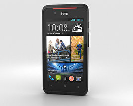 3D model of HTC Desire 210 Black