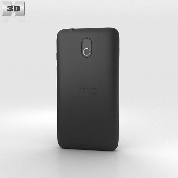 HTC Desire 210 Black 3d model