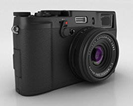 3D model of Fujifilm FinePix X100S Black