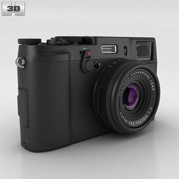 3D model of Fujifilm FinePix X100S Black
